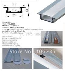 aluminum led strip light channels slim version for an under cabinet recess in the kitchen recess profile for ceiling lighting car led strips flexible led