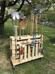 garden tool rack artofit storing