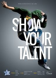 Talent Show Poster Designs Show Your Talent Poster On Behance