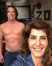 nia vardalos shirtless john corbett do my big fat greek wedding  nia vardalos shirtless john corbett do my big fat greek wedding 2 pic