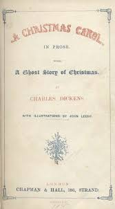 a christmas carol by charles dickens title page of 1843 first edition