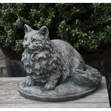 cat garden statue. Duchess Cat Garden Statue P