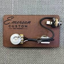 pre wired kit la cabronita emerson