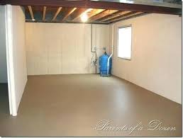 Basement Floor Paint Ideas Impressive Inspiration