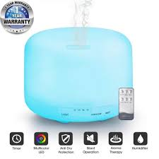 Tesco Led Lights Tesco Air Mist Humidifier Aroma Essential Oil Diffuser With