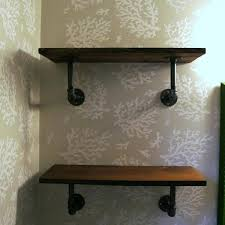 pipe shelves corner iron kitchen steel