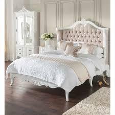 white velvet bed.  Velvet Httpswwwhomesdirect365coukestelleantiquefrenchstylebedp40465 Throughout White Velvet Bed I