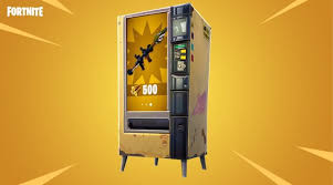 Gene The Vending Machine Inspiration Fortnite How Vending Machines Work In Battle Royale Game Breaking