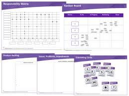 Chart Kit Scrum Wall Chart Kit