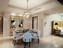 glamorous round dining room tables for 6
