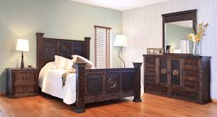 rustic king bedroom set. hacienda rustic star bedroom set king