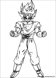 Goku Printable Coloring Pages Fcsairplay Coloring