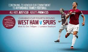 Don't miss the Carabao Cup Spurs derby - tickets available on the day
