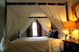 king size canopy bed with curtains – VinnyMo