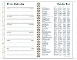 Academic Weekly Calendar At A Glance Sapphire Academic Weekly Monthly Planner