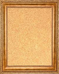 Framed Cork Board 16