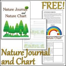 Free Printable Nature Journal And Nature Chart Homeschool