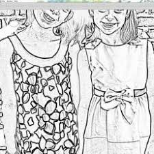 Clever Design Turning Photos Into Coloring Pages Turn Photo Page