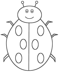 Small Picture Bug Coloring Page Free Printable Bug Coloring Pages For Kids