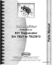 caterpillar 931 traxcavator parts manual products caterpillar 931 traxcavator parts manual products products manual and caterpillar
