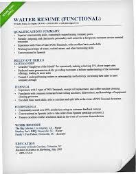 Sample Of Waitress Resume Impressive Resume For Food Service 48RPC Food Service Waitress Waiter Resume