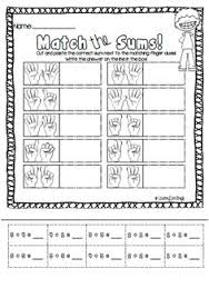 Worksheets, Simple addition and Cut and paste on PinterestAddition Memory Match Game + Cut and paste worksheets