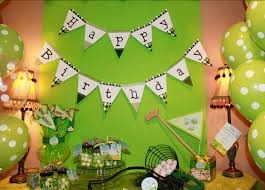 Golf Ball Decorations Golf party Noah is 100 Chickabug 53