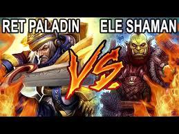 Savix Retribution <b>Paladin</b> Vs Best Elemental <b>Shaman</b> - YouTube
