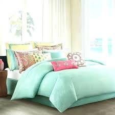 mint green bedding sets light bed sheets lime cotton duvet cover linen lim