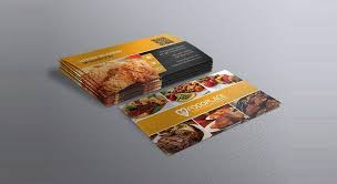 Free Restaurant Business Card Template Business Card Free