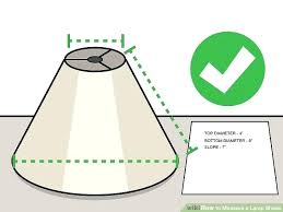 how to measure a lamp shade image titled measure a lamp shade step 8 laura ashley