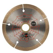 qep 4 in black widow micro segmented diamond blade for porcelain and ceramic tile