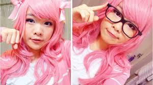 basic female cosplay makeup tutorial megurine luka vocaloid you