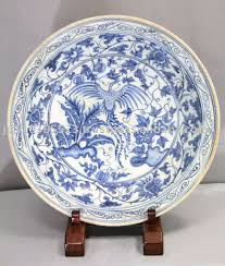 Blue And White China Pattern Beauteous Blue And White China Pattern Of The Chinese Phoenix Platter Buy