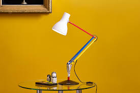 anglepoise lighting. the lamp has seen various reincarnations at hands of significant designers anglepoise apex 90 u2013 shade mounted with a push button switch and plastic lighting