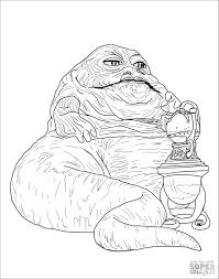 Wise old yoda is famous for the way he rearranges sentence structure. Star Wars Coloring Pages Jabba The Hutt Coloringbay