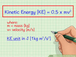 image titled calculate kinetic energy step 1