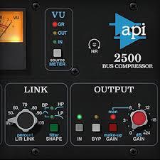 universal audio ssl 4000 e channel strip api 2500 bus compressor