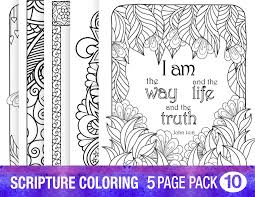 Scripture Coloring Pages For Adults Pdf Color Bros