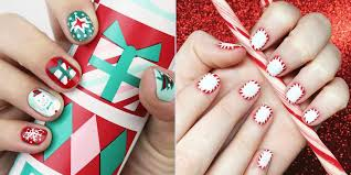 9 Best Holiday Nail Art Designs for 2017 - Festive Christmas Nail ...