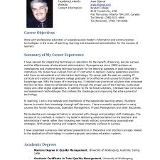 98 Resume Format Doc Good Resumer Example