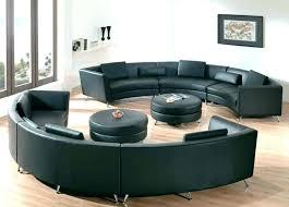 image of semi circular sofa sectional