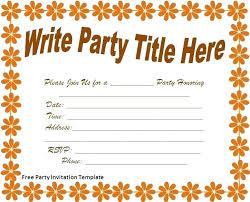 Word Template Birthday Invitation Getpicks Co