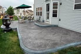 concrete patio designs. Delighful Designs Concrete Patio Designs Layouts In Concrete Patio Designs E