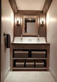corrugated metal ceiling basement bathroom rustic with reclaimed wall used roofing panels for