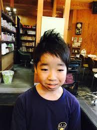 サブさんのヘアスタイル 子供のカットは大人より難しいで Tredina