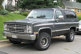 chevrolet k5 blazer overview