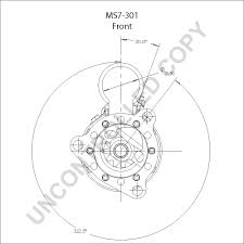 Ms7 301 front dim drawing rear dim drawing