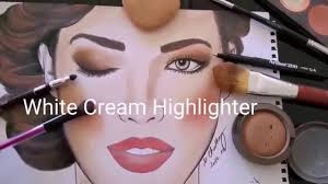 Makeup Face Charts By Elanoir Peachy Bridal Look Using My Fav Tools