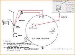 basic gm alternator wiring diagram images mando marine alternator gm alternator wire diagram circuit and schematic wiring